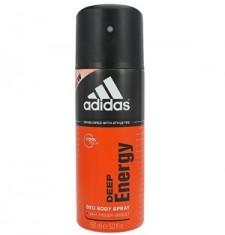 正品Adidas阿迪达斯男士香体喷雾DeepEnergy能量150ml活力跃动