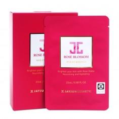 韩国正品JAYJUN新款rose mask红玫瑰水光针面膜 美白保湿补水淡化黑色素