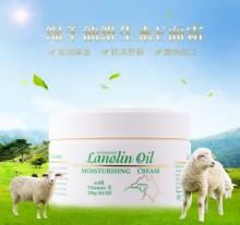 正品澳洲原装进口gm Lanolin绵羊油 ve面霜身体乳护手霜250g 美白补水保湿