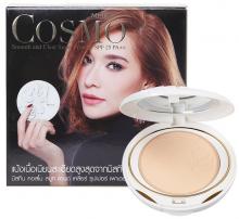 泰国正品彩妆Mistine羽翼粉饼10g完美定妆 美白遮瑕控油防晒SPF25