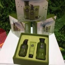 包邮正品ZUZU新品沁馨绿茶植萃保湿三件套 控油补水保湿抗氧化