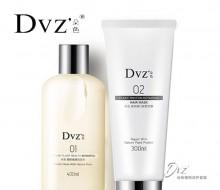 包邮正品DVZ朵色水漾精华洗护组合 无硅油防脱发控油去屑柔顺洗发水护发素套装新包装