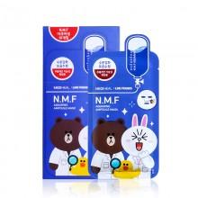 韩国美迪惠尔正品可莱丝限量版卡通动物面膜10片 补水保湿针剂面膜