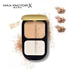 Max Factor正品蜜丝佛陀透滑粉饼10g 美白遮瑕控油防晒定妆