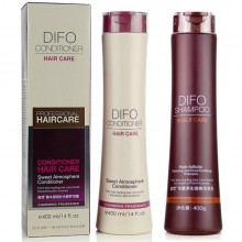 DIFO笛梵洗护套装正品毛囊净化强根洗发水乳+蜗牛原液补水修护发膜