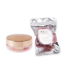 正品AGC妍贵希气垫腮红10g持久不脱妆自然裸妆粉色橘色修容