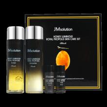 正品JM solution水光蜂蜜水乳面部套装补水保湿提亮美白抗皱紧致