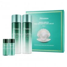 正品JM solution韩国海洋珍珠水乳套盒补水美白紧致提亮4件套装