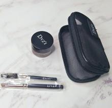 正品DVZ朵色眉型微调膏套装  持久不掉色不晕染不脱妆打造时尚雾眉眉膏