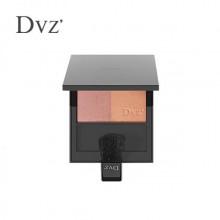 DVZ朵色柔彩双色腮红 裸妆自然透亮晒红粉胭脂持久显气色